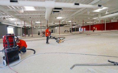 Professional Concrete Floor Polishing