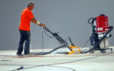 Concrete Polish Preparation