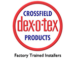 Crossfield dex-o-tex Factory  Trained Installers